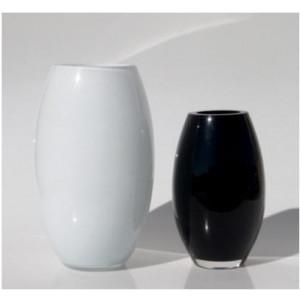 Jarrón 119972971 (D 14.5 x H 24 cms) negro