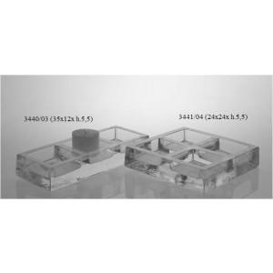 Portavelas 3440/03 (35 x 12 x 5.5 cms altura)